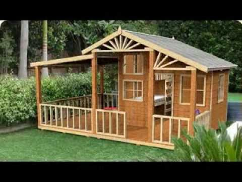 Homemade DIY cubby house making ideas - YouTube