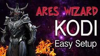 KODI 16 ARES WIZARD - Easy Setup Tutorial 2016. How to Install Best Builds, Addons, Sources, Repos