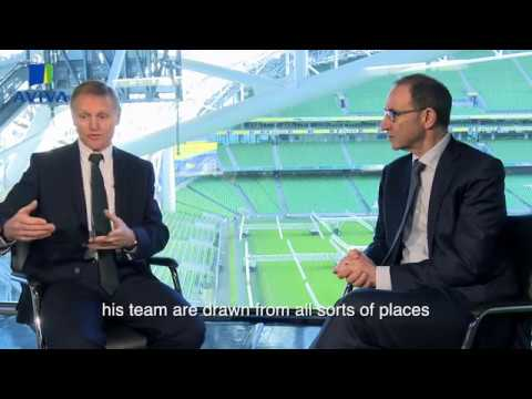 Exclusive Interview with Joe Schmidt & Martin O'Neill  | Aviva