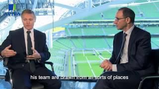 Exclusive Interview with Joe Schmidt & Martin O'Neill  | Aviva