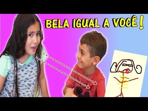 DESAFIO PINTANDO A BELA!!!! OLHA O DESENHO FEIO QUE O MAGU FEZ (Inspirado no Colorindo com 3 Cores)