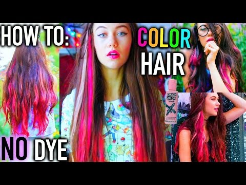 how to color hair no bleaching or dye jessiepaege
