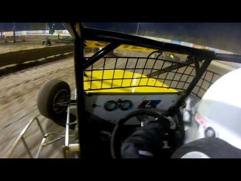 New Egypt Speedway Sprint Car Flip