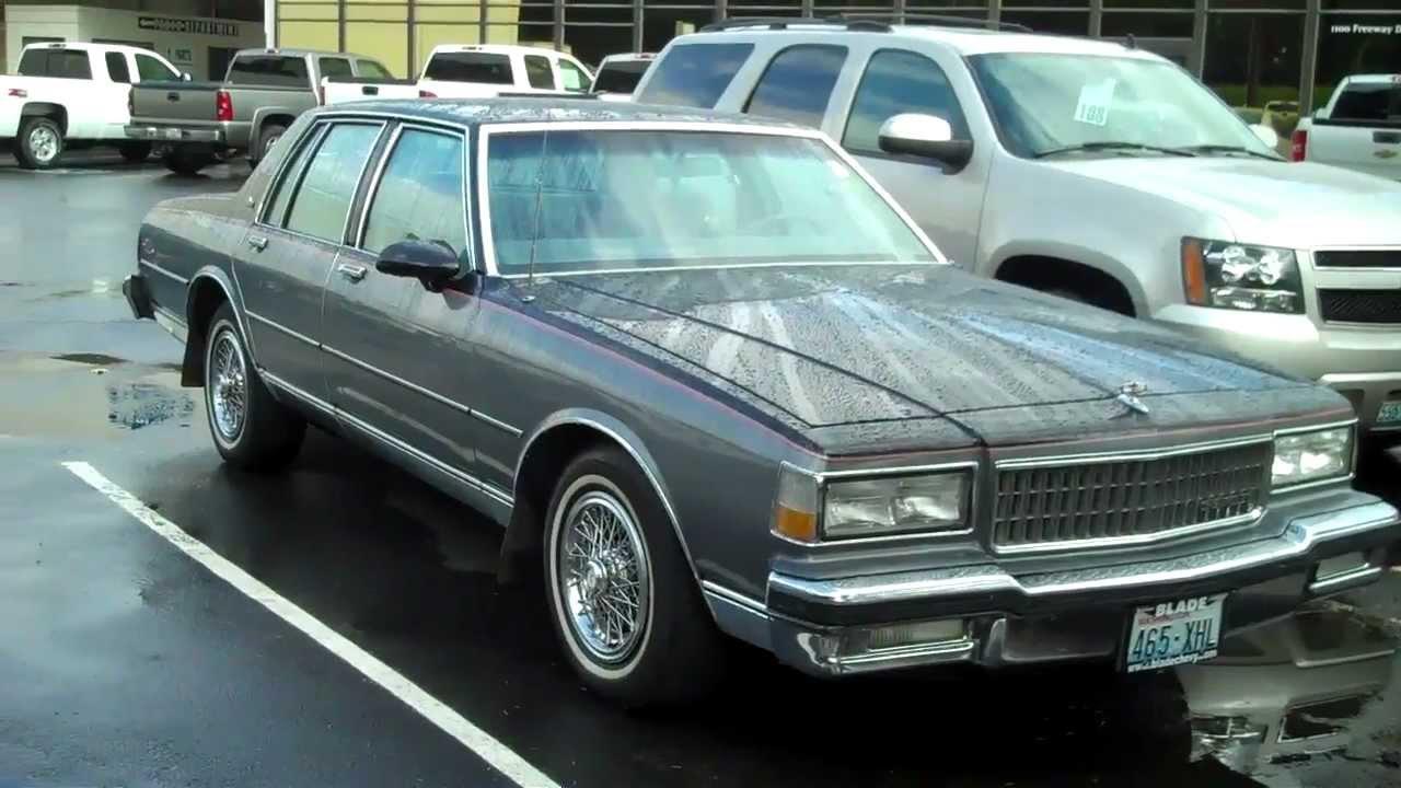 1988 Chevy Caprice - YouTube