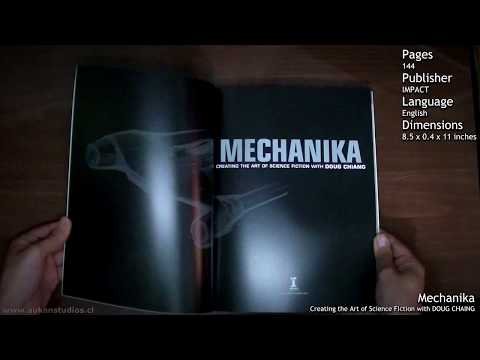 Review Book: Mechanika creating the art of science fiction with Doug Chiang
