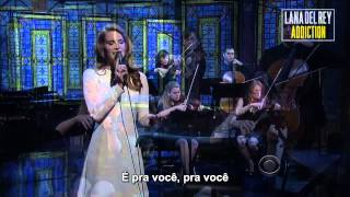 Lana Del Rey - Video Games (Live at Late Show With David Letterman) [Legendado] Thumbnail