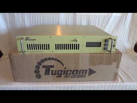 Tugicom DCE300 300 watt professional FM broadcast stereo transmitter with RDS encoder