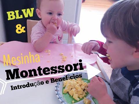 Benefícios e Introdução da MESA MONTESSORI- by Mama Mama