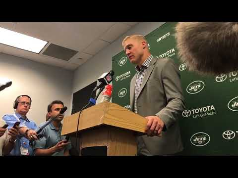 10/22/2017: Josh McCown post-game video interview (Dolphins 31-Jets 28)