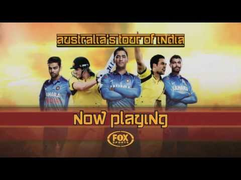 Australia's Tour Of India - NOW PLAYING on Fox Sports