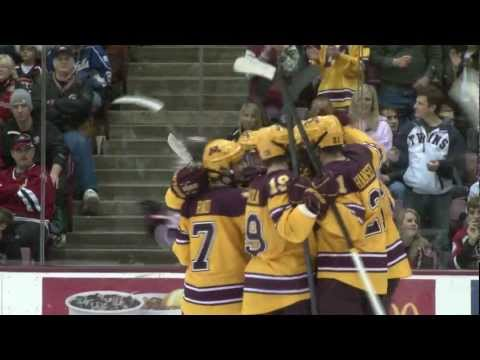 Highlights: Nick Bjugstad, Gopher Hockey 2011