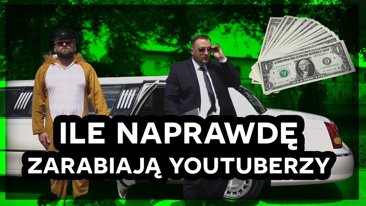 Ile naprawdę zarabiają YouTuberzy | Bez kanału