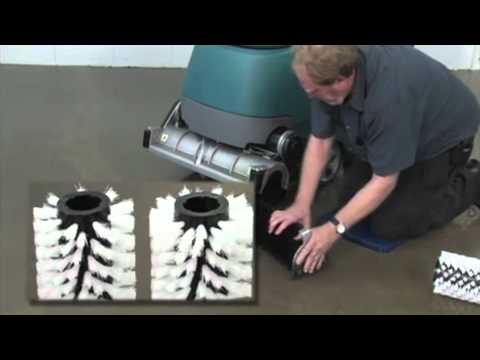Tennant T5 Floor Scrubber- Operator Training Video