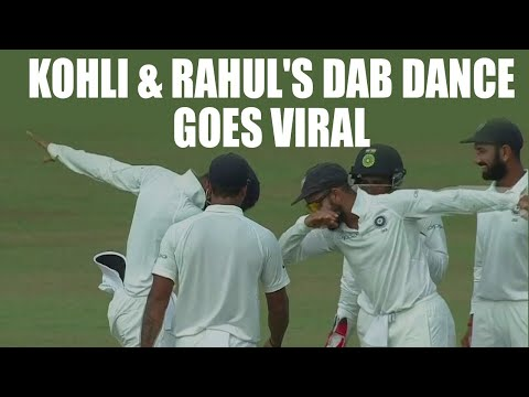 Virat Kohli & KL Rahul celebrate Tharanga...