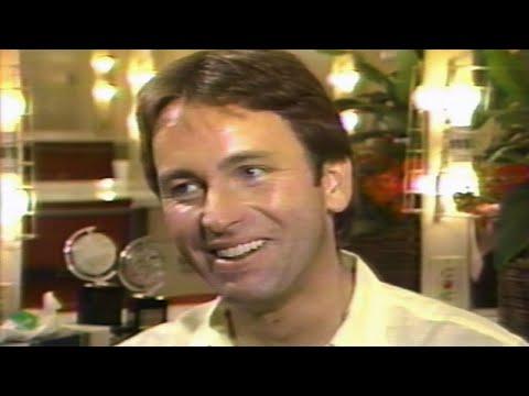John Ritter Good-natured 1985 Backstage Interview