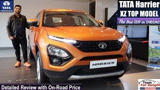 Tata Harrier Top Model XZ Detailed Review with On Road price | Tata Harrier Review