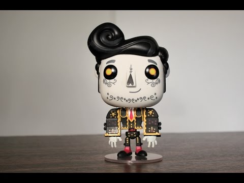 The Book Of Life MANOLO Land Of The Remembered Funko Pop Review
