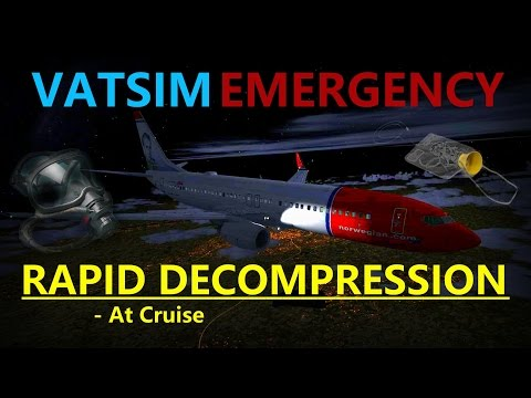 Rapid Decompression | VATSIM Emergency Ep. 4 | PMDG 737NG