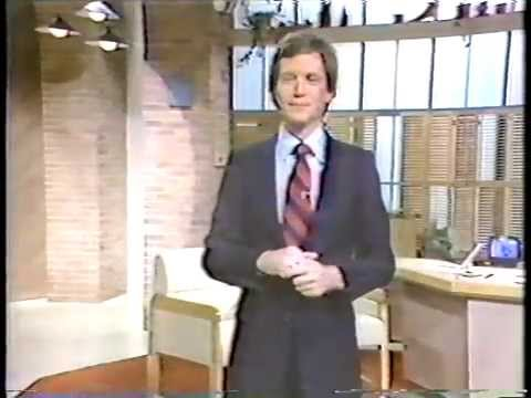 the Final DAVID LETTERMAN Morning Show. Oct 24, 1980