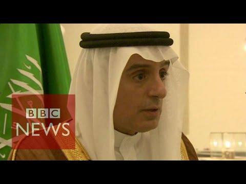 Saudi FM: No doubt Syria's President Assad will go - BBC News