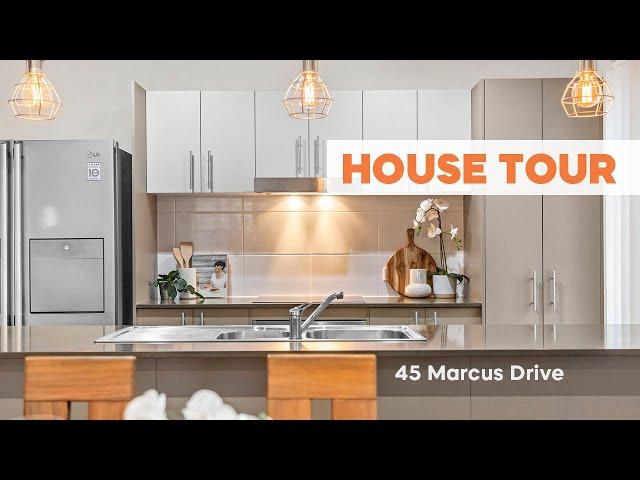 HOUSE TOUR   45 Marcus Drive Regents Park   CHRIS GILMOUR & DERRICK WILLIAMS
