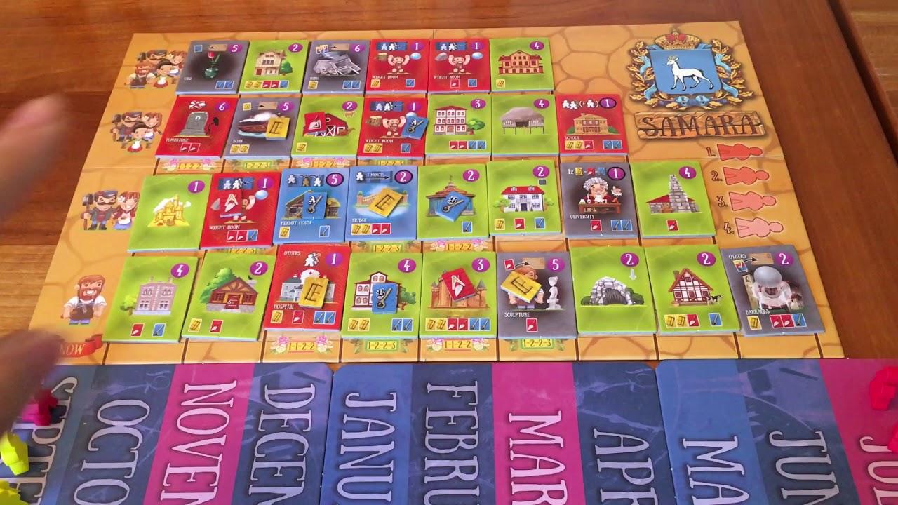 Board Game Reviews Ep #41: SAMARA