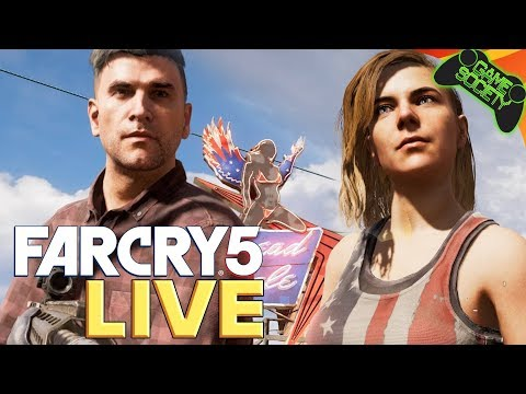 Far Cry 5 LIVE - (No Spoilers) Game Society Pimps
