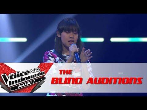 "Meril ""Fallin"" | The Blind Auditions | The Voice Kids Indonesia Season 2 GTV 2017"