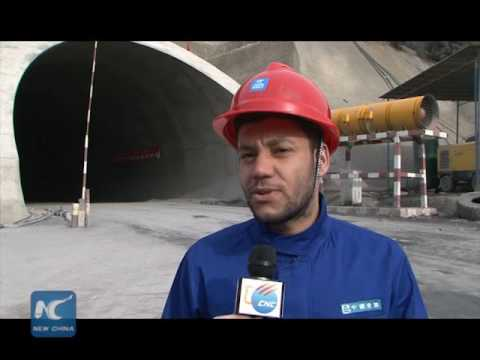 Algeria's longest highway tunnel built by Chinese company cut through