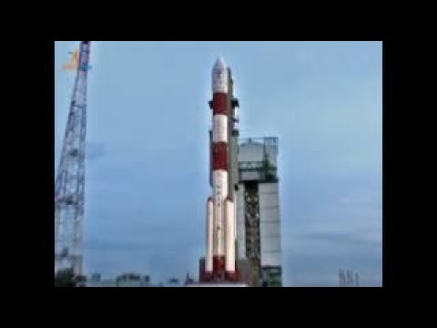 PSLV C38 Cartosat-2 series satellite Launch video on board camera.