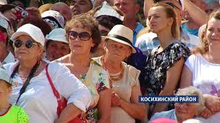 В Косихе открыли памятник, посвященный Роберту Рождественскому