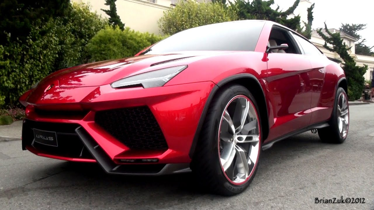 Lamborghini Urus On The Road