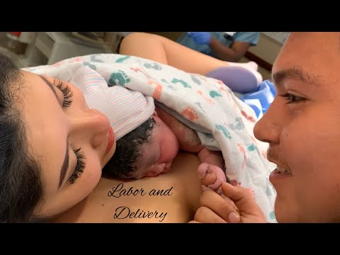LABOR AND DELIVERY VLOG || 18 YEARS OLD