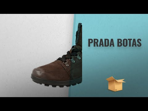 Prada 2018 Mejores Ventas: Prada Men's 4T2937 Leather Half-Boot