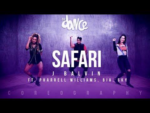 Safari - J Balvin ft. Pharrell Williams, BIA, Sky | FitDance Life (Choreography) Dance Video
