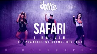 Safari - J Balvin ft. Pharrell Williams, BIA, Sky | FitDance Life (Choreography) Dance Video