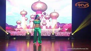 Жасмин – Аладин и Жасмин I Зимний отчетный концерт 2016 I Dance Studio Focus