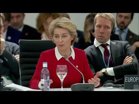 #COP25: Welcome remarks by Ursula VON DER LEYEN