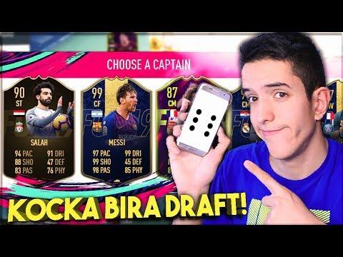 KOCKICA MI BIRA DRAFT! FIFA 19 🎲
