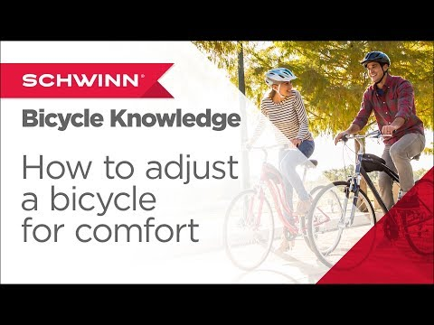 f7d0e9b0685 How to Adjust a Bicycle for Comfort – Bike Fit & Bike Seat Basics - YouTube