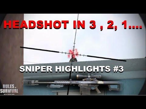 """When i say HEADSHOT"" Sniper Highlights #3 (ROS BISAYA)"