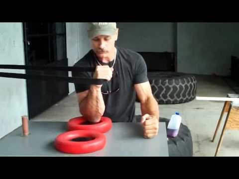 Arm Wrestling Training With Allen Fisher World Arm