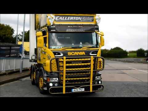 Callerton Haulage Scania Super V8 AU51PET