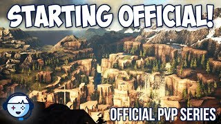 Starting On Official With A Big Tribe! | Official PVP Series | ARK: Survival Evolved | Ep1