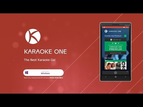 Karaoke One windows 10 e Xbox One Corvers chegou a hora de cantar!