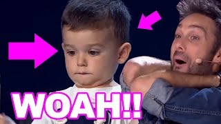 WOAH! 2 YEAR OLD DRUMMER SHOCKS THE WORLD ON GOT TALENT