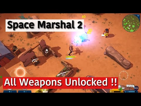 Space Marshal 2 Best Weapons (iOS Gameplay)