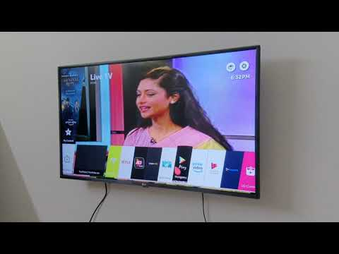 LG TV - LG 43 Inch Smart TV After Setting Review.