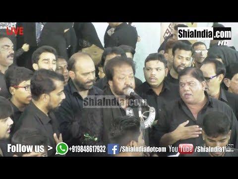 4th Muharram Aaghaz-e-Matam Anjuman-e-Hyderia 1439-2017-18