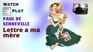 Paul de Senneville: Lettre A Ma Mère